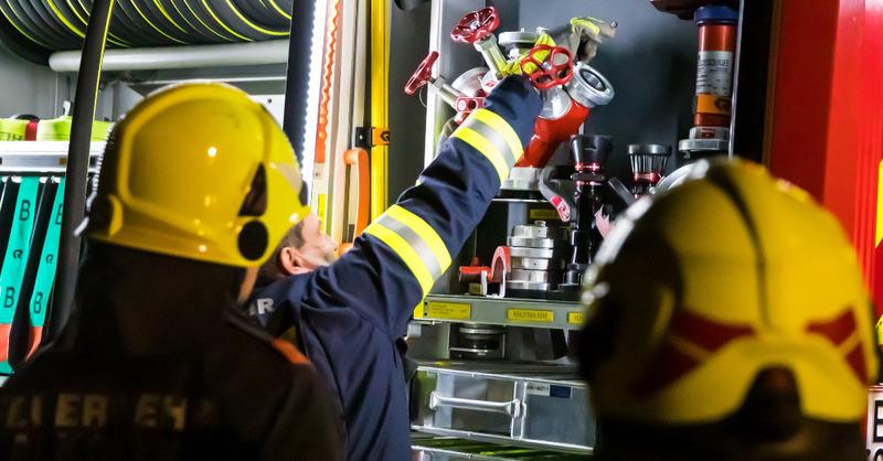 Feuerwehr, Einsatz, Blaulicht, Brand, © Pixabay (Symbolbild)