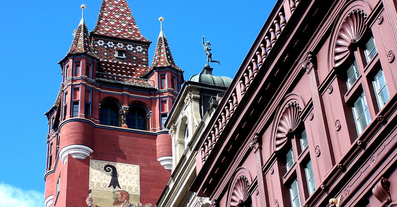 Basel, Rathaus, Schweiz, © Pixabay (Symbolbild)