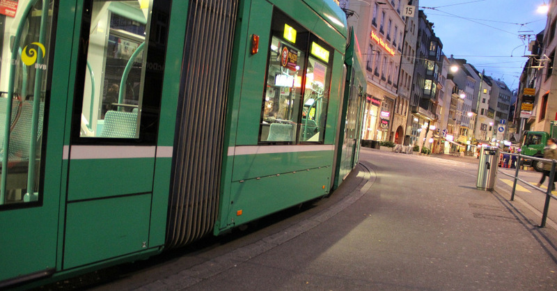 Tram, Basel, Straßenbahn, Schweiz, © Pixabay (Symbolbild)