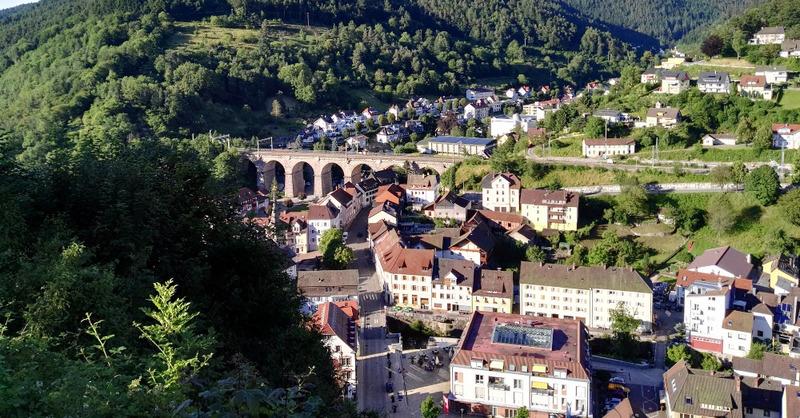 Hornberg, Ortenau, Schwarzwald, Eisenbahnbrücke, © Pixabay (Symbolbild)
