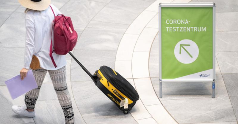 Coronavirus, Testpflicht, Einreise, Schnelltest, Urlaub, Reisen, © Sebastian Gollnow - dpa (Symbolbild)
