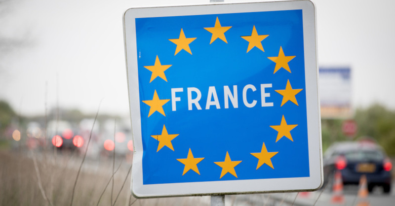 Frankreich, France, Grenzübergang, Grenze, Kontrollen, © Kay Nietfeld - dpa (Symbolbild)