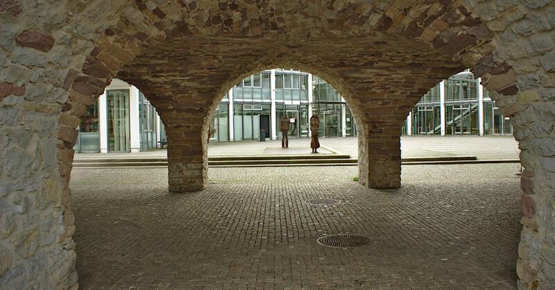 Emmendingen, Rathaus, Gewölbe, Statuen, © baden.fm