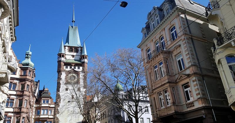 Freiburg, Innenstadt, Altstadt, Martinstor, Wahrzeichen, © baden.fm (Symbolbild)
