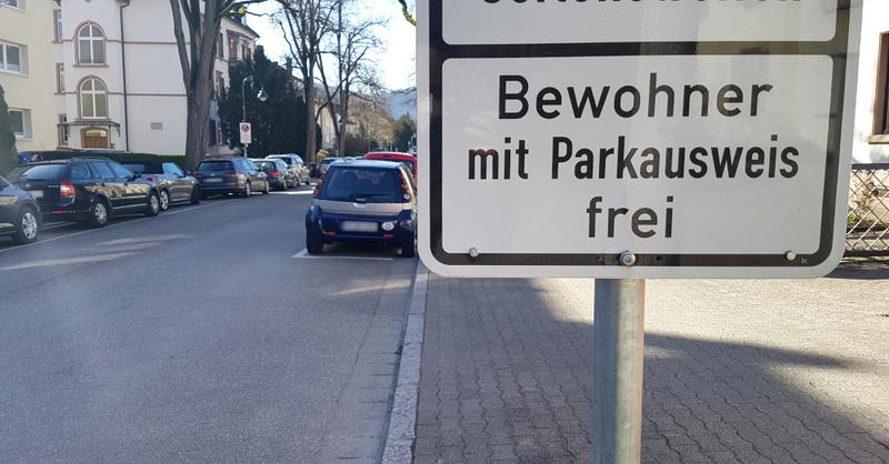 Anwohner, Parken, Parkgebühren, Parkplatz, Parkausweis, Bewohner, Freiburg, © baden.fm (Symbolbild)