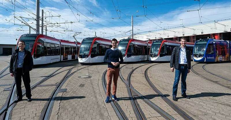 Urbos, Straßenbahn, Freiburg, VAG, © Freiburger Verkehrs AG
