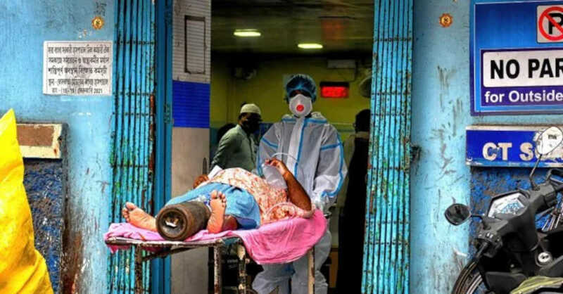 Coronavirus, Pandemie, Indien, Krankenhaus, Sauerstoff, Mangel, © Avishek Das / SOPA Images via ZUMA Wire / dpa
