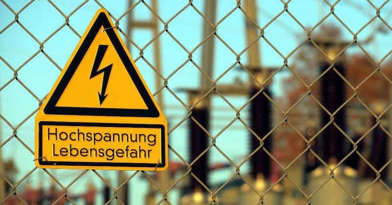 Hochspannung, Trafostation, Umspannwerk, Stromversorgung, Strom, Elektrizität, © Pixabay (Symbolbild)