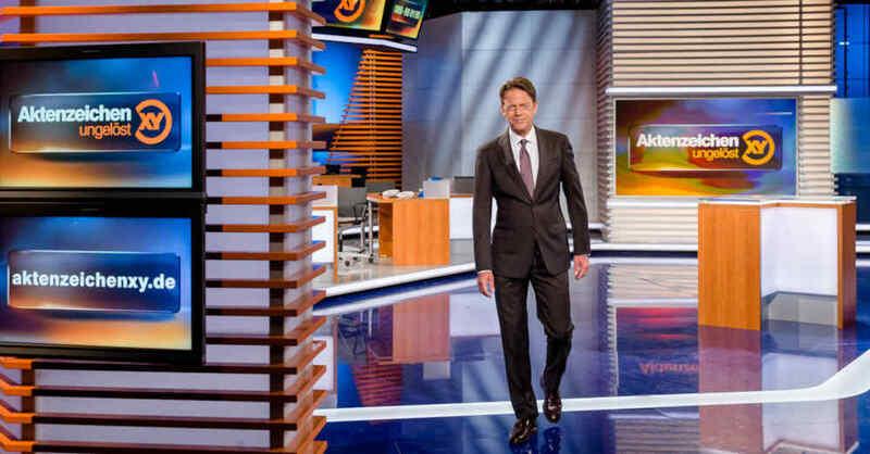 Aktenzeichen XY... ungelöst, TV, Fernsehen, Show, ZDF, Kriminalfälle, Rudi Cerne, © Nadine Rupp - ZDF (Archivbild)