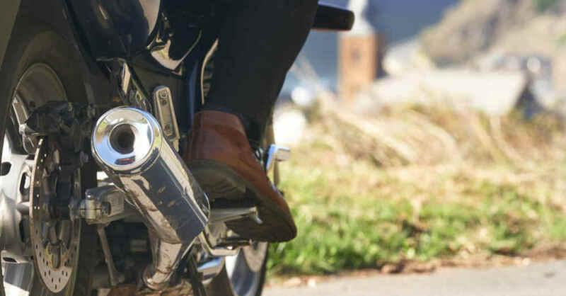 Motorradfahrer, Biker, Verkehr, Lärm, © Thomas Frey - dpa (Archivbild)