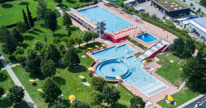 Parkschwimmbad, Freibad, Lörrach, Schwimmbad, © Baschi Bender / Stadt Lörrach (Archivbild)