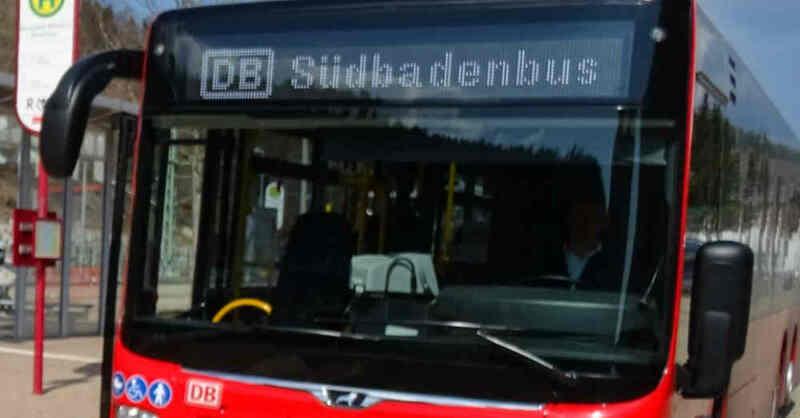 Deutsche Bahn, SüdbadenBus, Nahverkehr, Linienbus, © SüdbadenBus