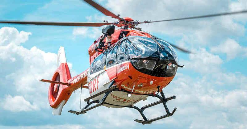 Christoph 54, Rettungshubschrauber, Hubschrauber, Helikopter, DRF Luftrettung, Freiburg, © DRF Luftrettung (Archivbild)