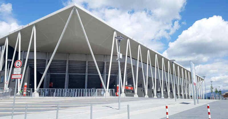 Fußballstadion, SC Freiburg, Sport-Club, Wolfswinkel, © baden.fm