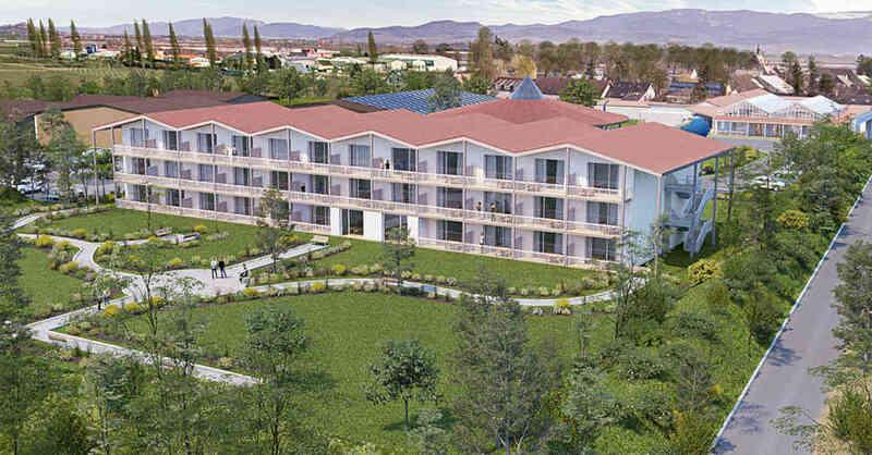 Landhotel, Bohrerhof, Hartheim, Feldkirch, Bauvorhaben, © Lais Architekten (Visualisierung)