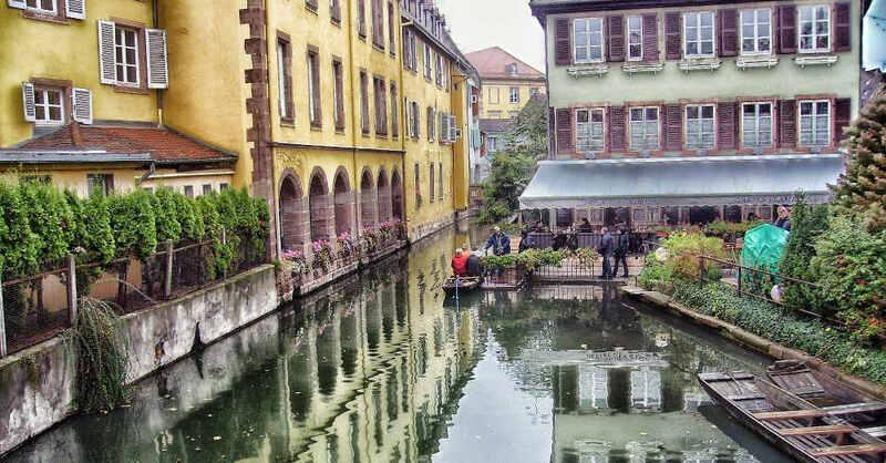 Colmar, Frankreich, Elsass, Kanal, Innenstadt, © Pixabay (Symbolbild)