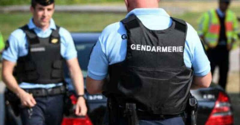 Gendarmerie, Polizei, Frankreich, Elsass, © Patrick Seeger - dpa (Archivbild)