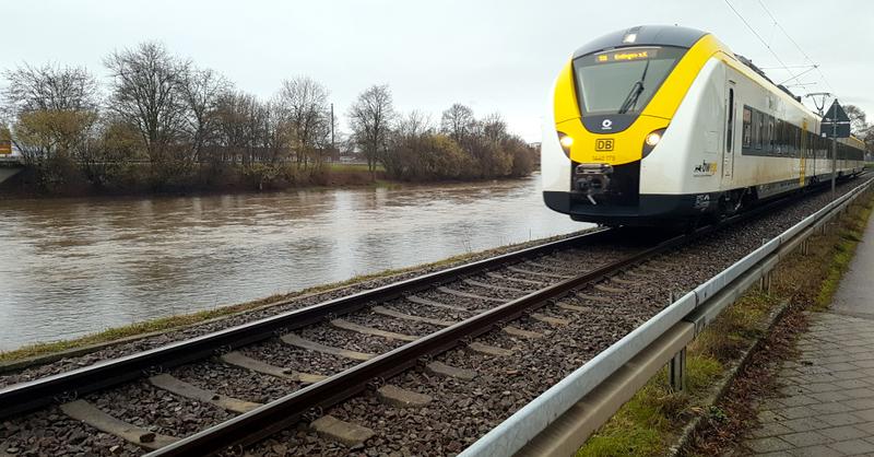 Riegel, Elz, Hochwasser, Kaiserstuhlbahn, © baden.fm (Archivbild)