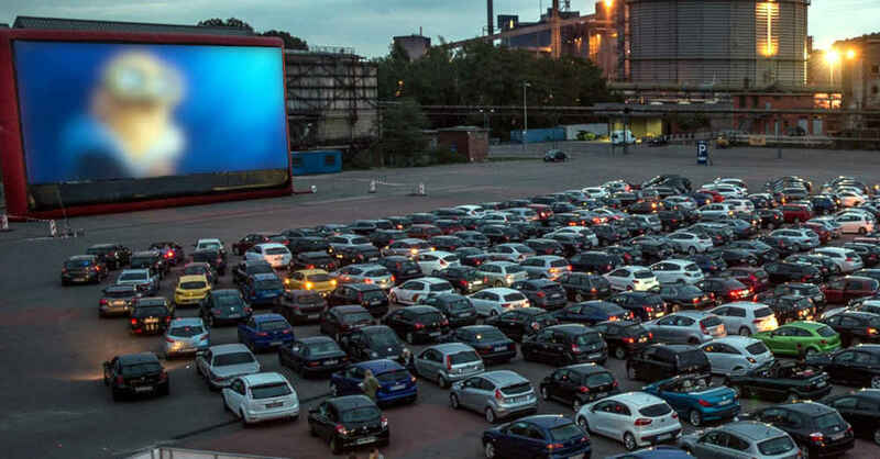 Autokino, Weil am Rhein, Film, Leinwand, Kino, © EVENTED GmbH (Archivbild)