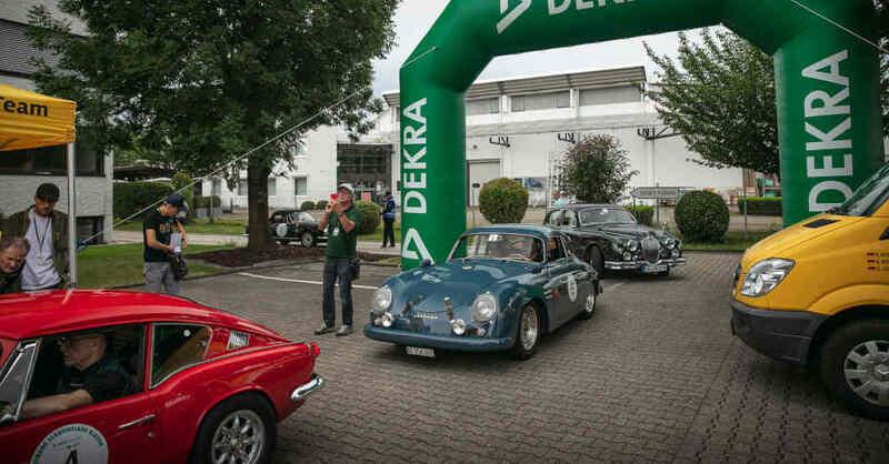 Schauinsland Klassik, Oldtimer, Rallye, Dekra, Start, © Marcel Bischler / ADAC Südbaden