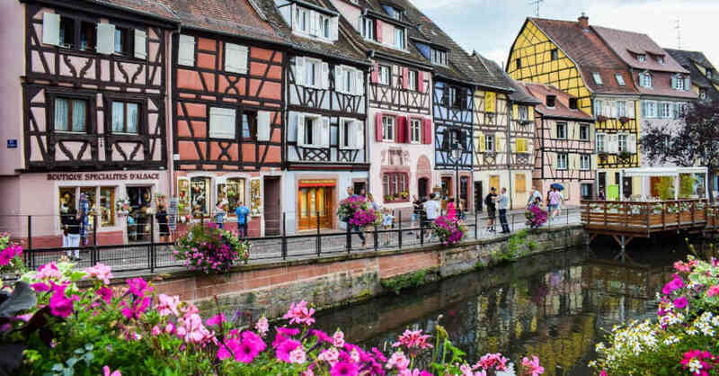 Elsass, Frankreich, Colmar, Innenstadt, Altstadt, © Pixabay (Archivbild)