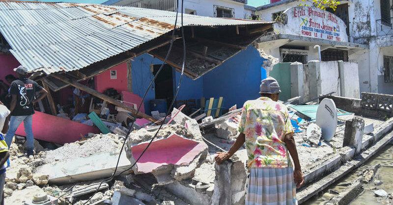 Erdbeben,, © Duples Plymouth/AP/dpa