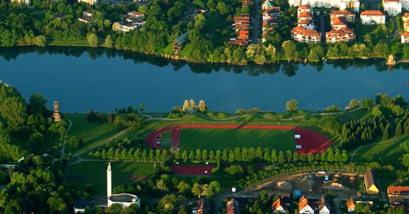 Seepark, Freiburg, Flückiger See, © Norbert Blau - Wikimedia Commons (CC-BY3.0)