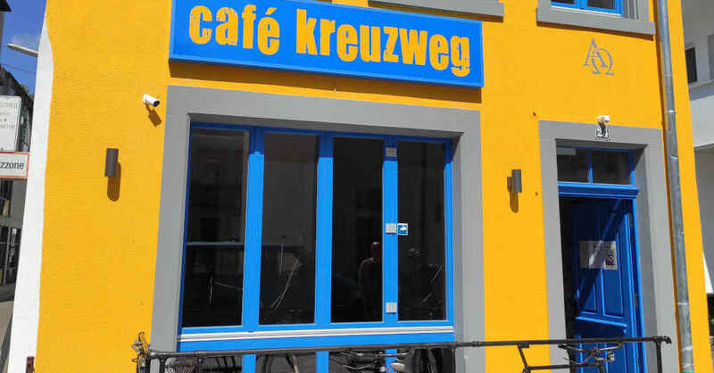 Café Kreuzweg, Gastronomie, Gratis-Café, Lörrach, © Diakonische Stadtarbeit Kreuzweg Lörrach