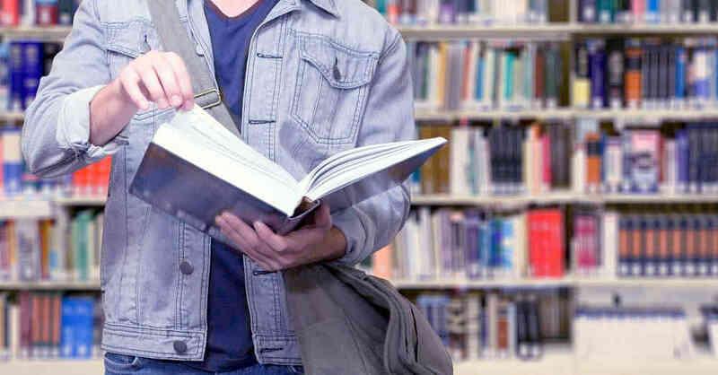 Universitätsbibliothek, UB, Lernen, Studium, Studierende, Studenten, Bücherei, © Pixabay (Symbolbild)