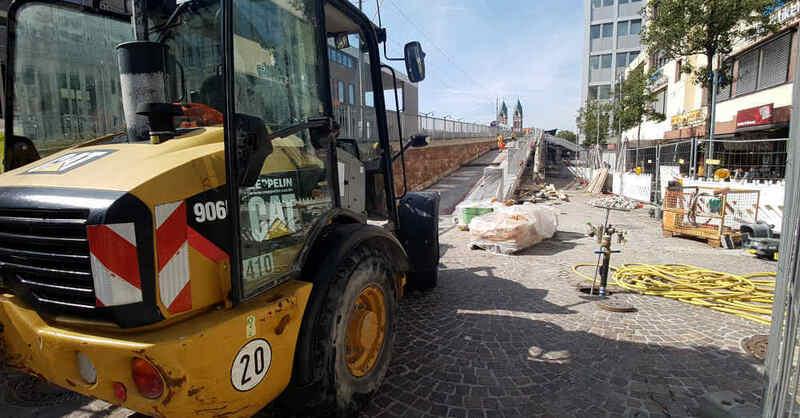 Baustelle, Stadtbahnbrücke, Stühlinger, Hauptbahnhof, Freiburg, © baden.fm