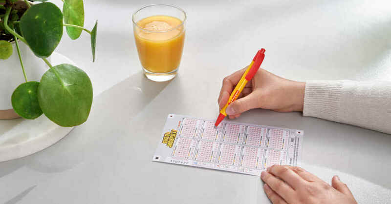 Eurojackpot, Lotterie, Lotto, Baden-Württemberg, Los, Glücksspiel, Tippschein, © Claus C. Morgenstern / Lotto Baden-Württemberg (Symbolbild)