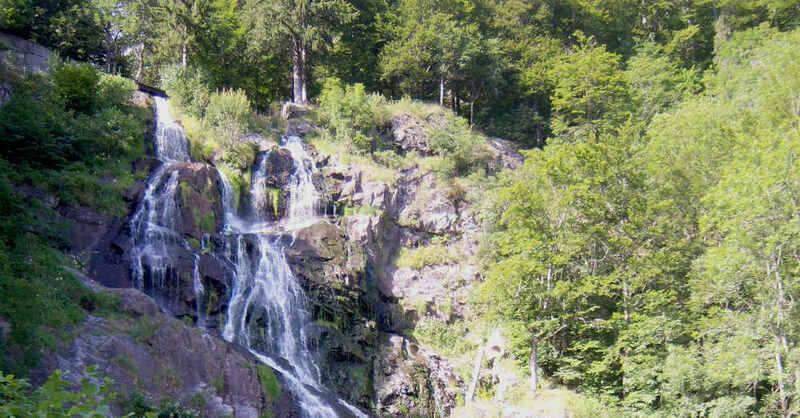 Todtnauer Wasserfälle, Schwarzwald, Todtnau, Wasserfall, Wanderziel, Ausflugsziel, © Pixabay (Archivbild)