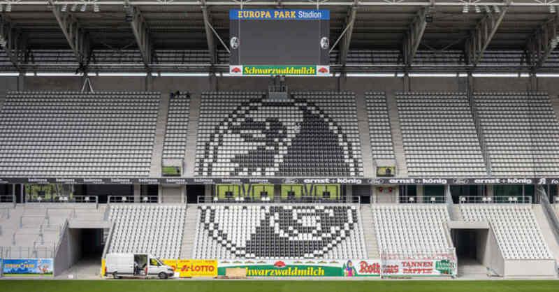Europa-Park Stadion, SC Freiburg, Fußball, Stadion, Wolfswinkel, Tribüne, Bundesliga, © Philipp von Ditfurth - dpa (Archivbild)