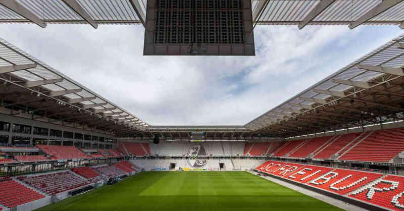 SC Freiburg, Europa-Park Stadion, Fußball, Stadion, Wolfswinkel, Bundesliga, © Philipp von Ditfurth - dpa (Archivbild)