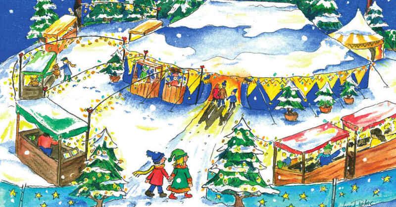 Weihnachtszauberland, Zirkus, Projektzirkus, St. Georgen, © Freiburger Projektzirkus