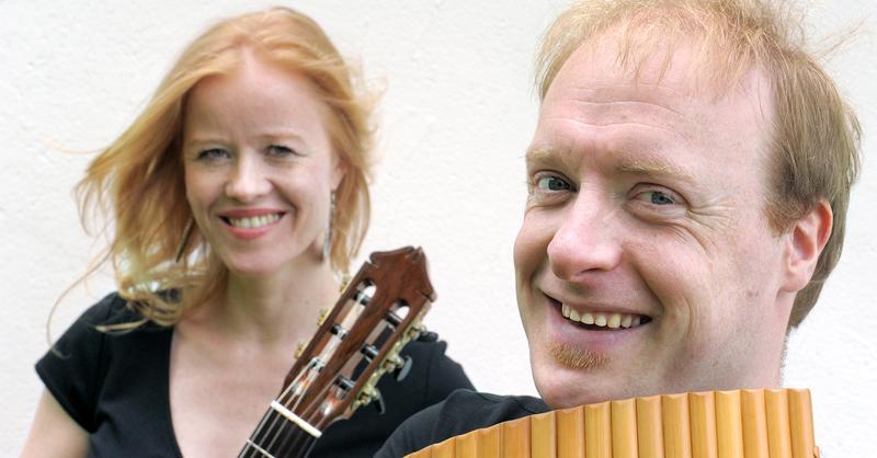 Virtuose Panflöte - Panflöte und Gitarre (Schlubeck/Beneke), © © Veranstalter
