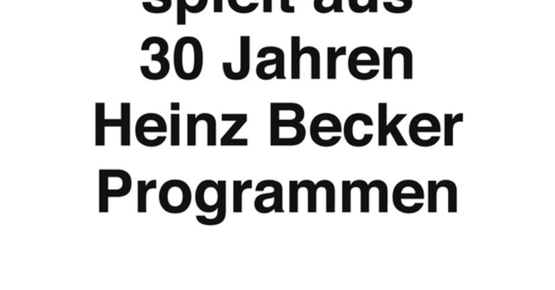 DEJA VU - Gerd Dudenhöffer spielt aus 30 Jahren Heinz Becker-Programmen, © © Veranstalter