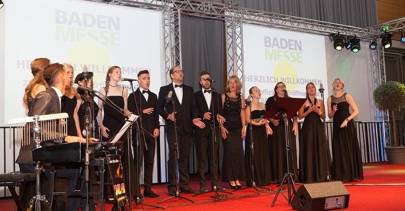 BADEN MESSE 2018 - offizielle Eröffnung - 08. September 2018, 10:30 Uhr, Halle 4, © © Veranstalter