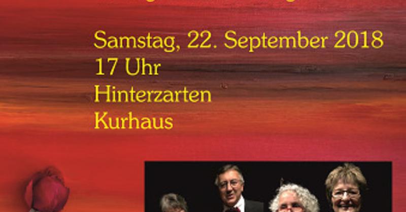 """Konzert """"Plaisir d`amour"""" - Walzer, Tango, Musical, Swing, © © Veranstalter"""