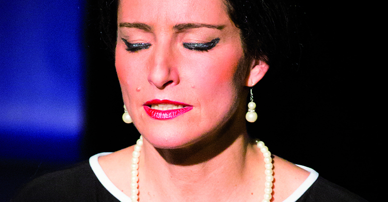 """""""Meisterklasse"""" -Aus dem Leben einer Diva, von Terrence McNally, © © Veranstalter"""