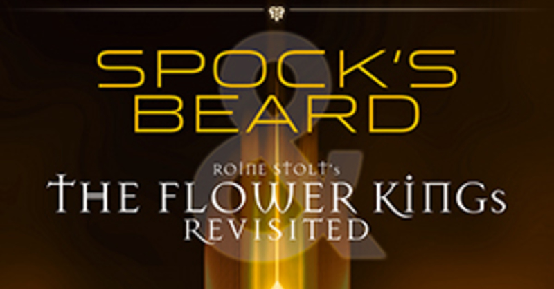 SPOCK'S BEARD and THE FLOWER KINGs revisited - The 25th anniversary tour of InsideOut Music, © © Veranstalter