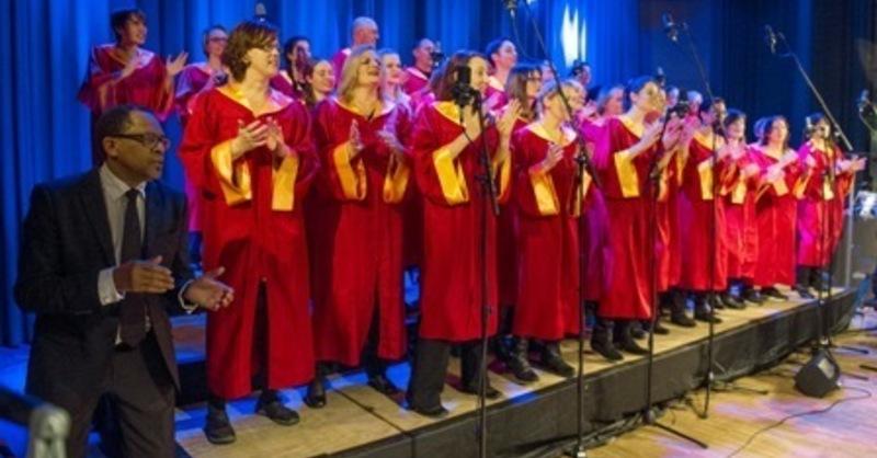 Jahreskonzert Freiburg Gospel Choir - mit Malcolm Green und Band, © © Veranstalter