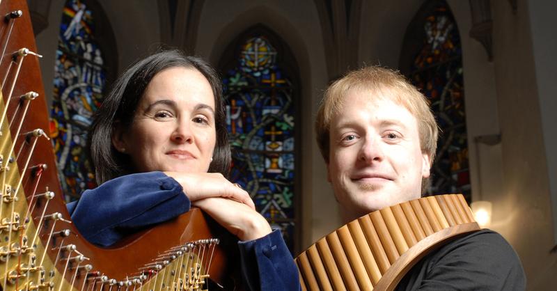 Virtuose Panflöte - Panflöte und Harfe (Schlubeck / Moreton), © © Veranstalter