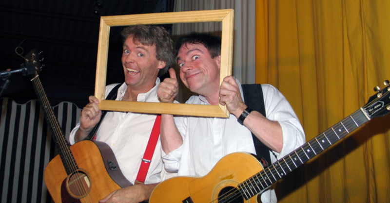 Mark'n Simon ´(IRL-Wales - Rock-Pop MusiComedy Show, © © Veranstalter