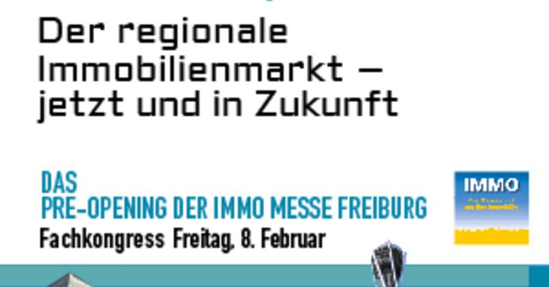 1. Freiburger IMMO-Update 2019 - Der regionale Immobilienmarkt - jetzt und in Zukunft, © © Veranstalter