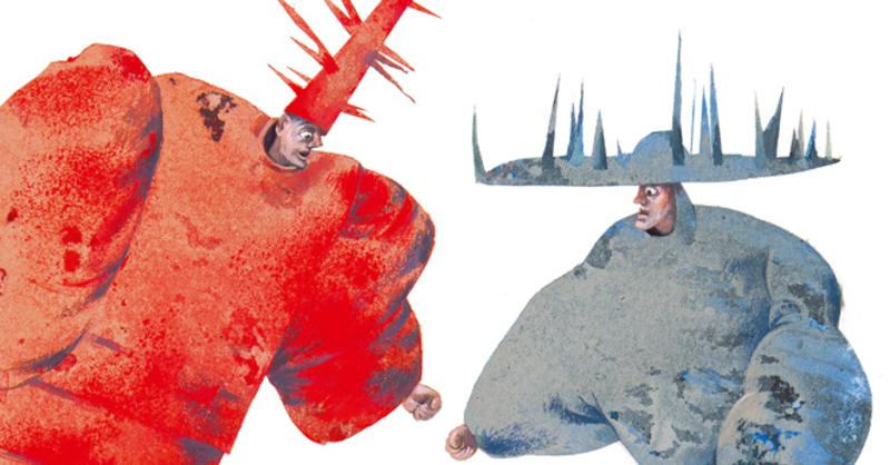 Aljoscha Blau: Die Schlacht von Karlawatsch - Wilder Freitag als Bilderbuchgefecht (5 bis 10 Jahre), © © Veranstalter