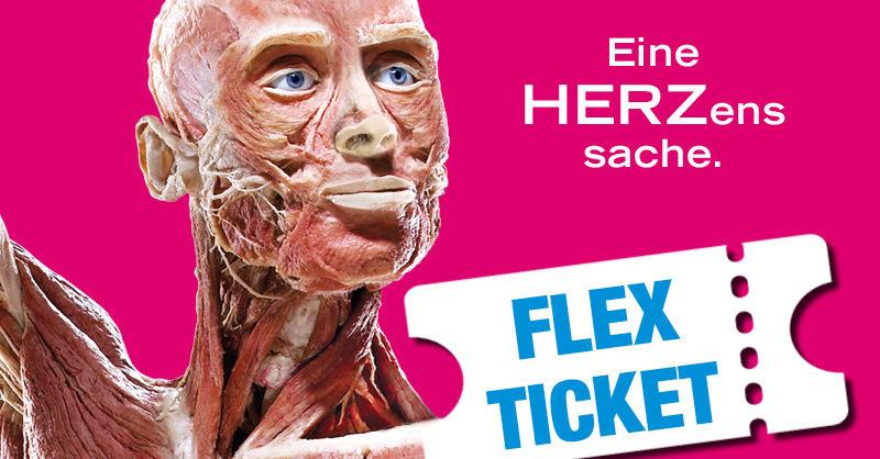KÖRPERWELTEN - Eine HERZenssache in Freiburg - Flex-Ticket, © © Veranstalter