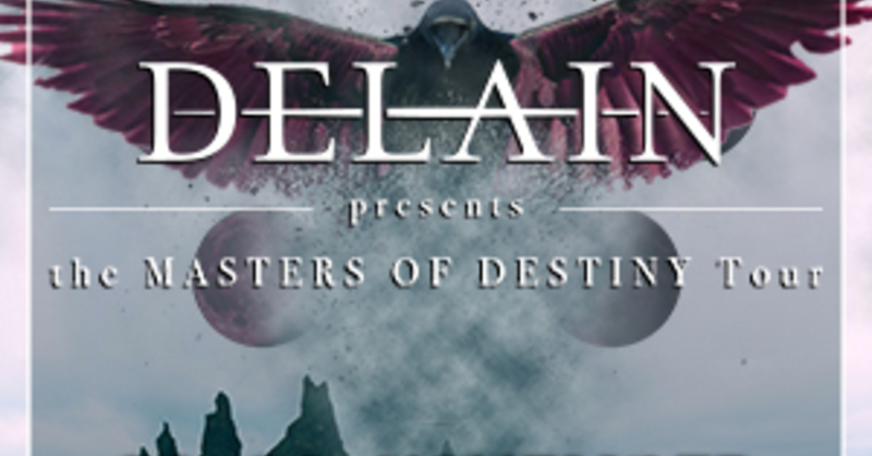 DELAIN - The Masters Of Destiny Tour, © © Veranstalter