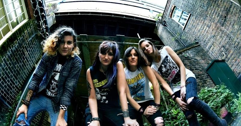 The Ramonas (UK) + Das Gedöhnstier (D, OG) - All girl tribute to The Ramones + PunkRock-Liedermaching, © © Veranstalter