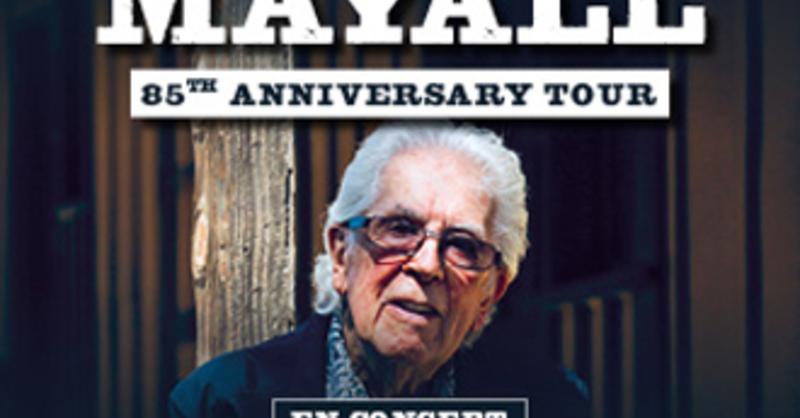 """John Mayall """"85th Anniversary Tour 2019"""" présenté par Artefact Prl en accord avec Gérard Drouot Productions, © © Veranstalter"""